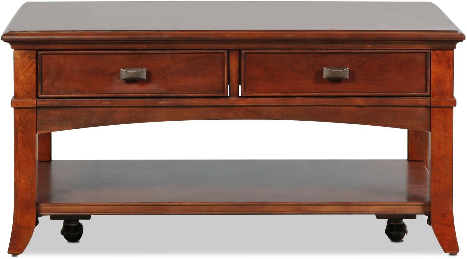 Accent and Occasional Furniture - Cambridge Coffee Table - Cherry