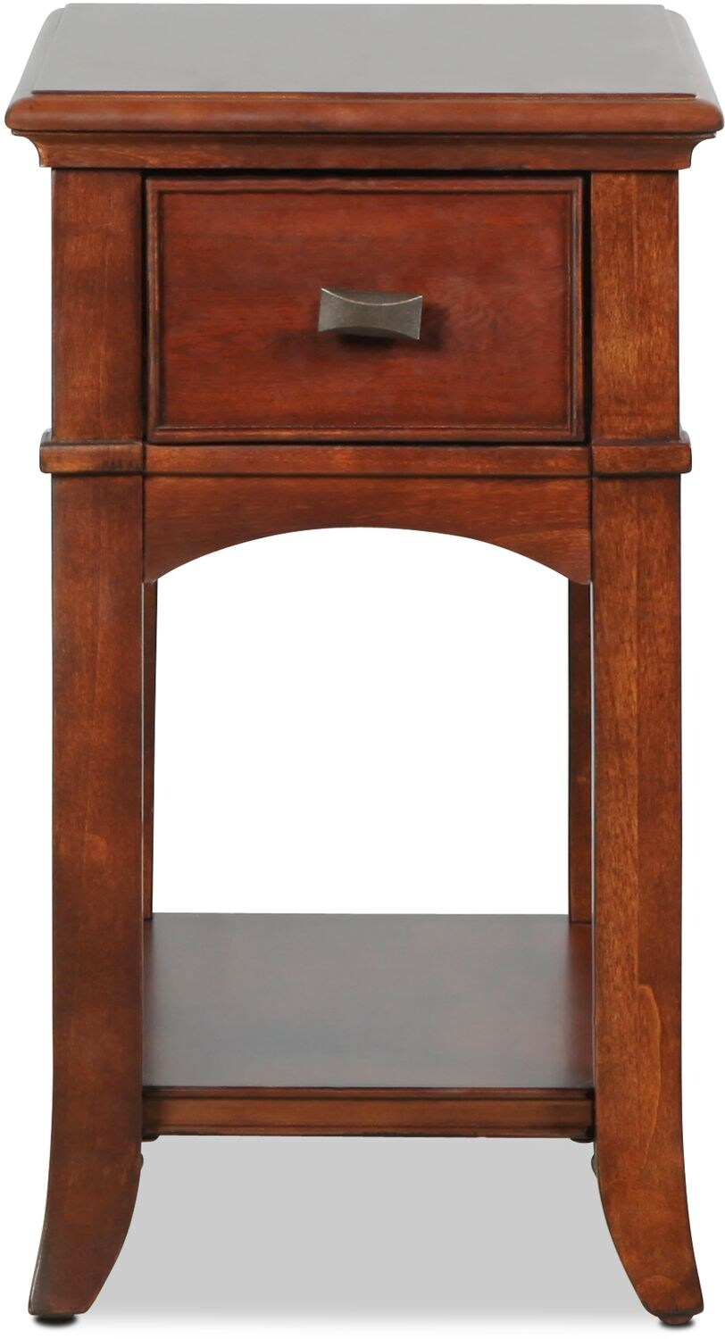 Accent and Occasional Furniture - Cambridge Chairside Table - Cherry