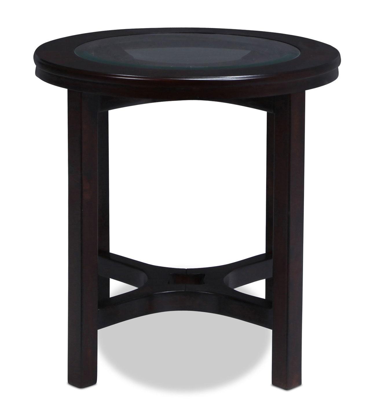 Seymour End Table - Espresso