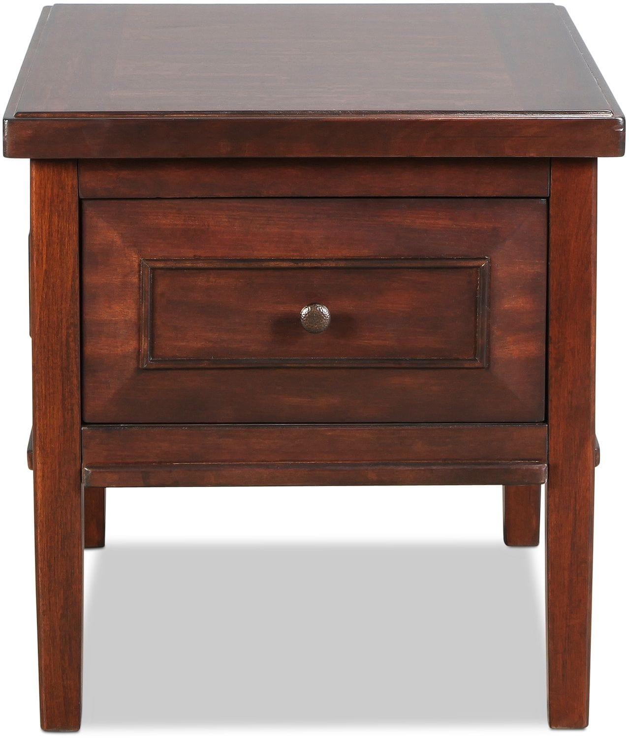 Bentworth End Table - Rustic Brown