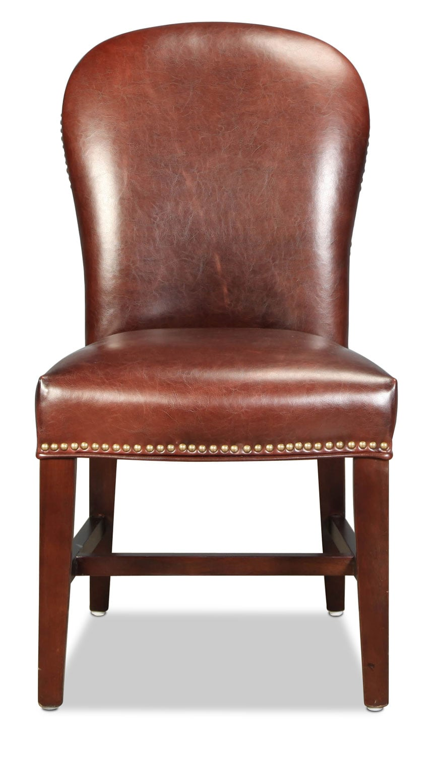 Grandview Rounded Side Chair -Brown