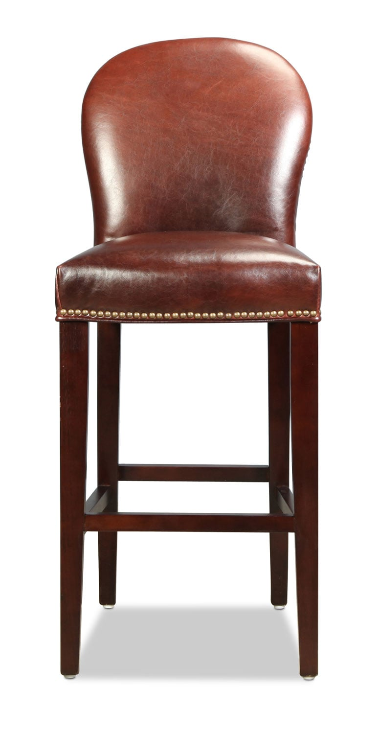 Grandview Rounded Barstool - Brown