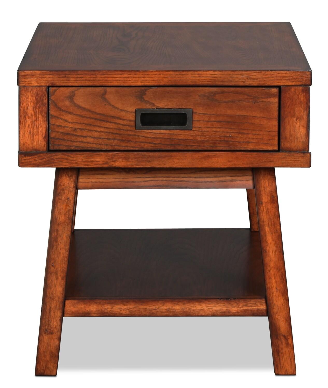 Helene End Table - Oak