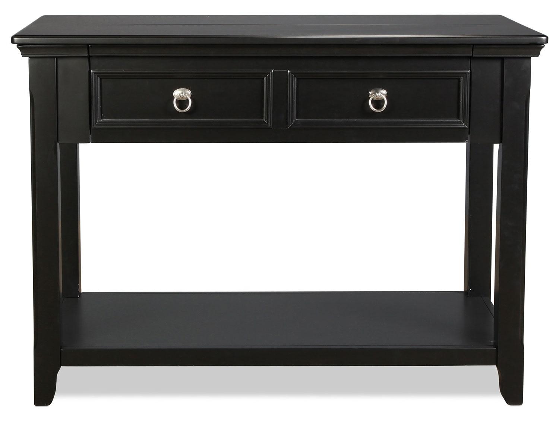 Hempfield Sofa Table - Black