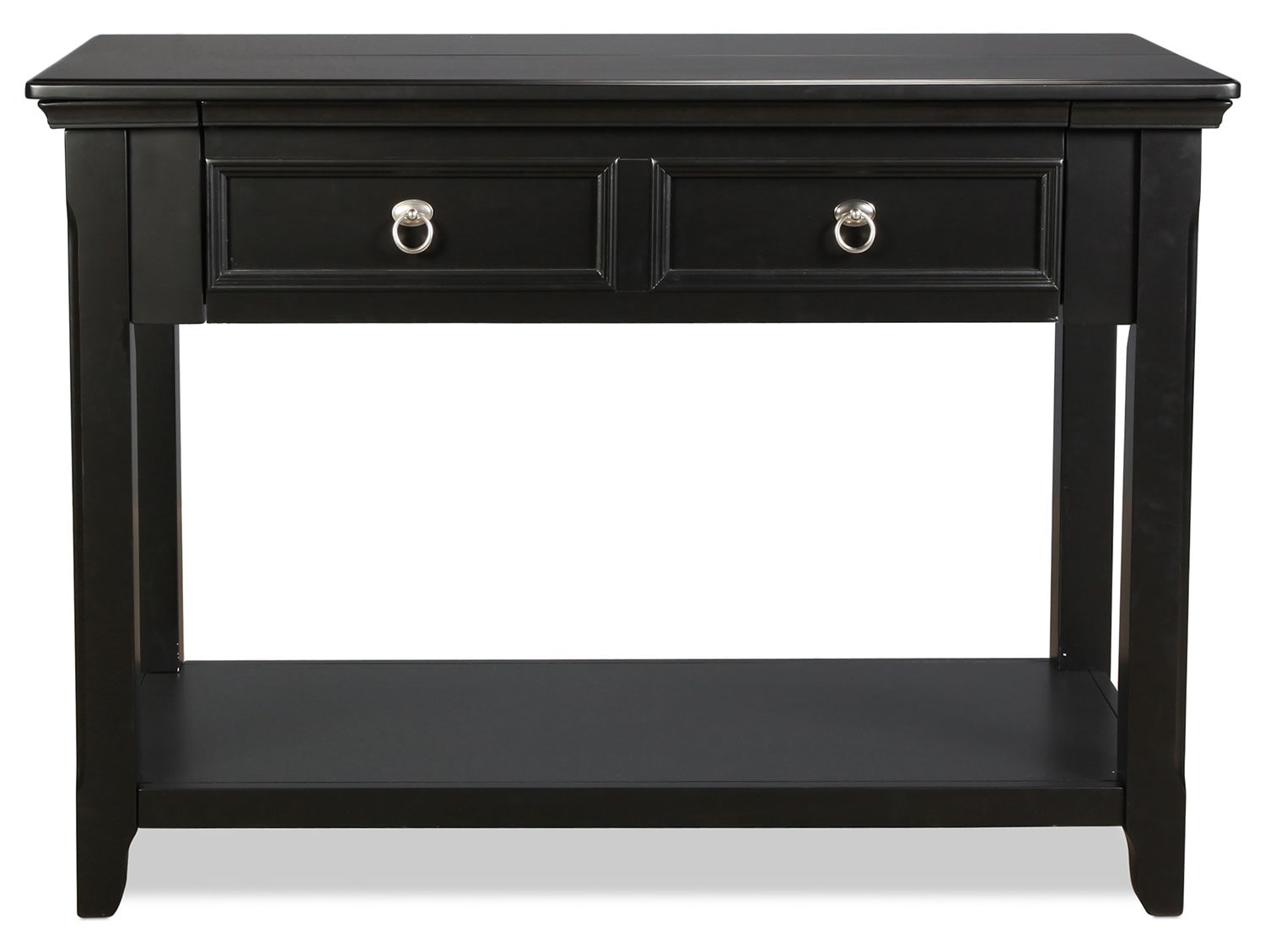 Accent and Occasional Furniture - Hempfield Sofa Table - Black