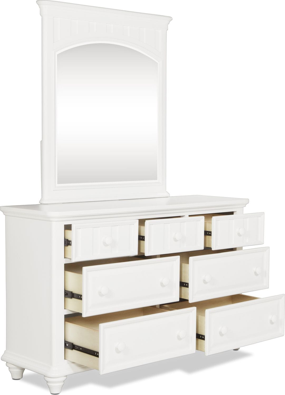 Laney Dresser White Levin Furniture