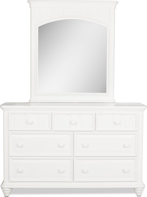 Laney Mirror - White
