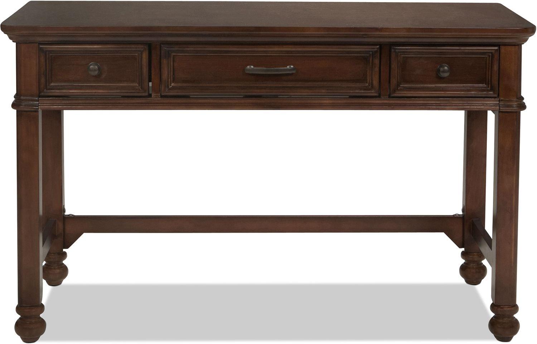 Brayden Desk - Cherry | Levin Furniture