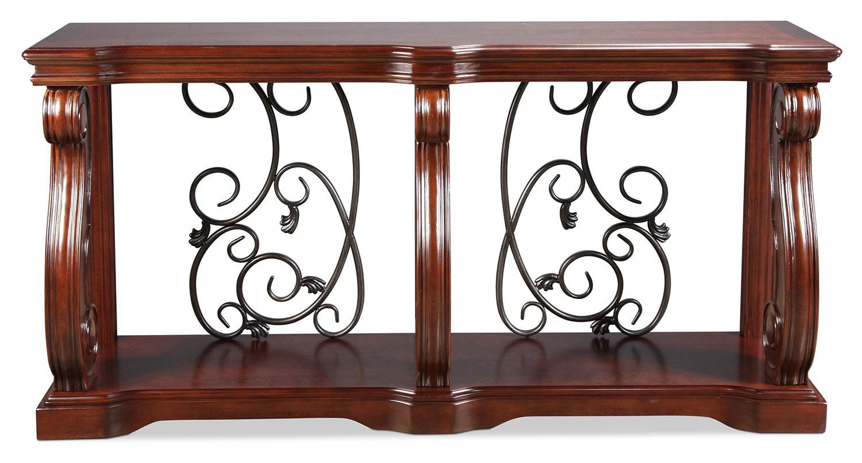 Vandenburg Sofa Table - Vintage Brown