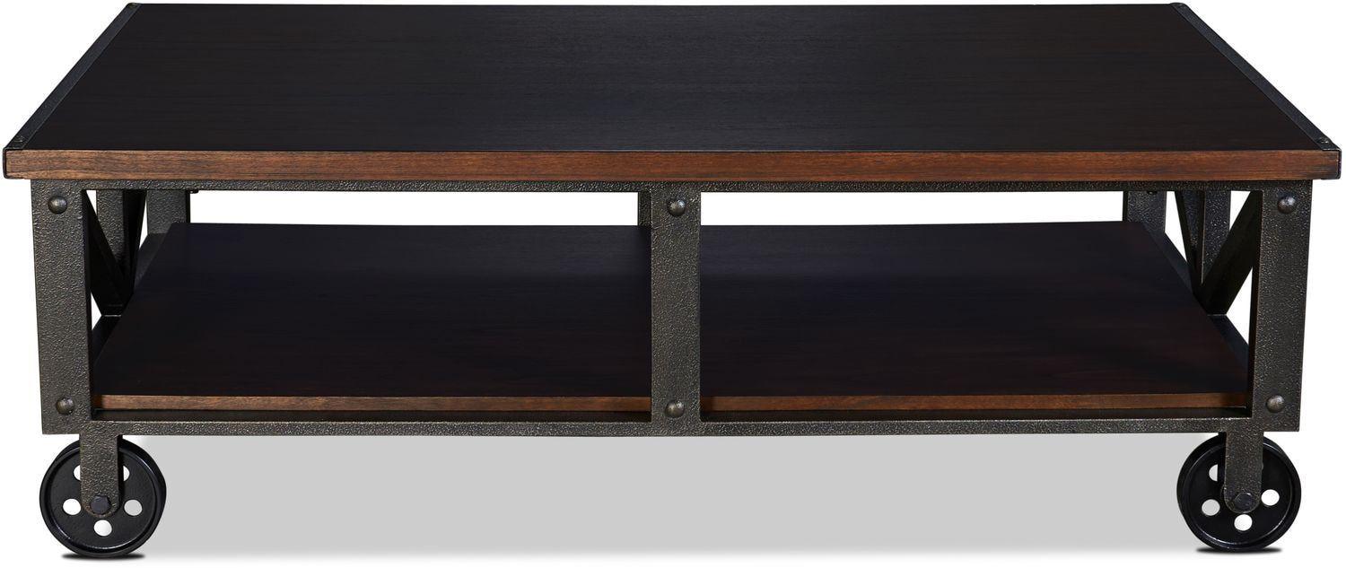 Dayna Coffee Table - Rich Brown