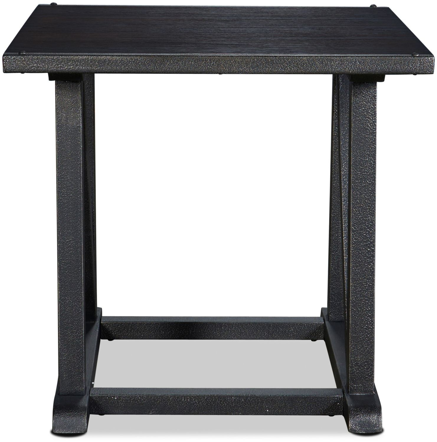Dayna End Table - Rich Brown