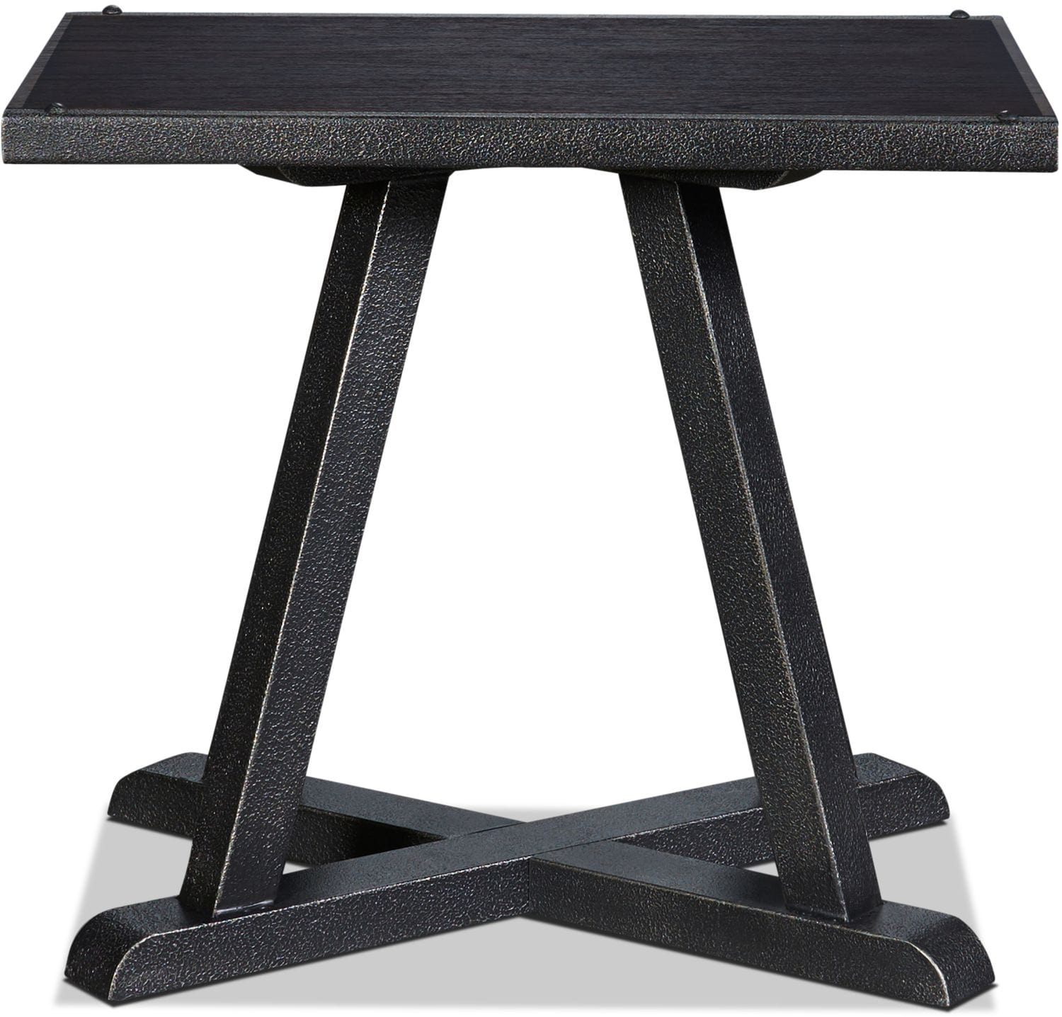 Dayna Chairside Table - Rich Brown