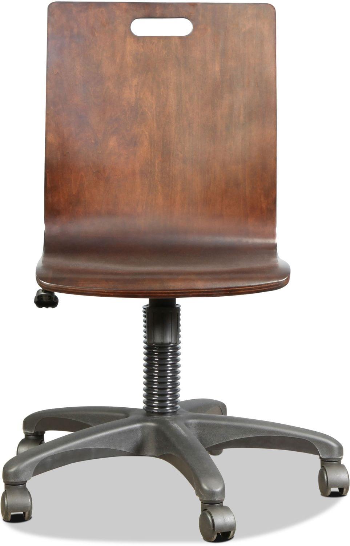 Home Office Furniture - Traver Desk Chair - Cocoa