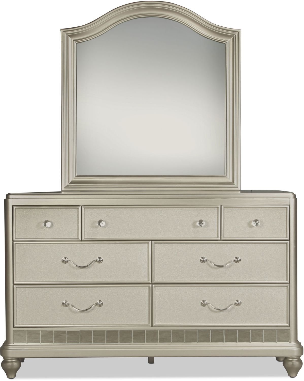 Lil' Posh Dresser - Platinum