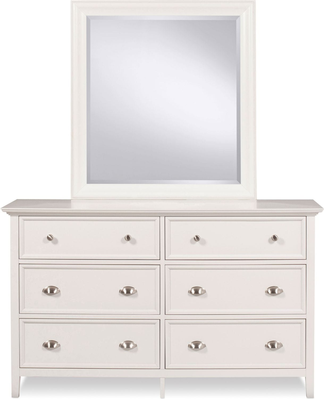 Ellsworth Dresser - White