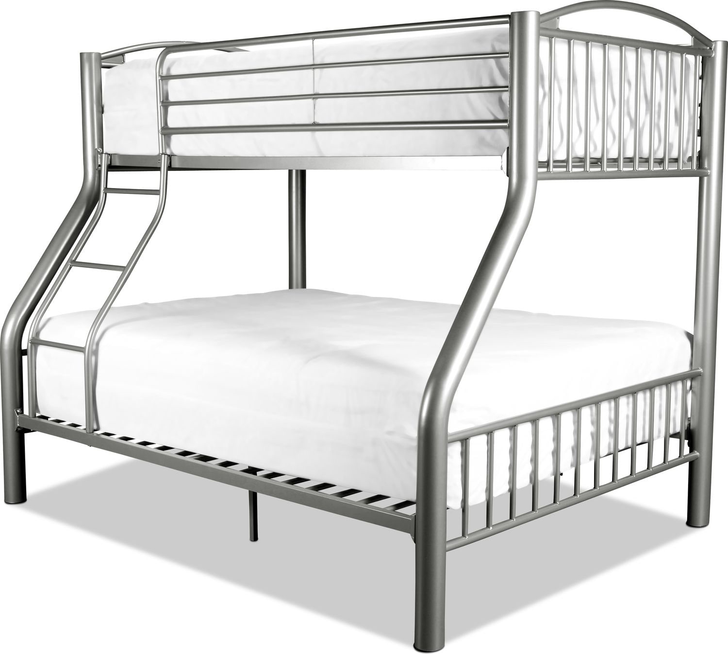 Kenny Bunk Bed - Pewter
