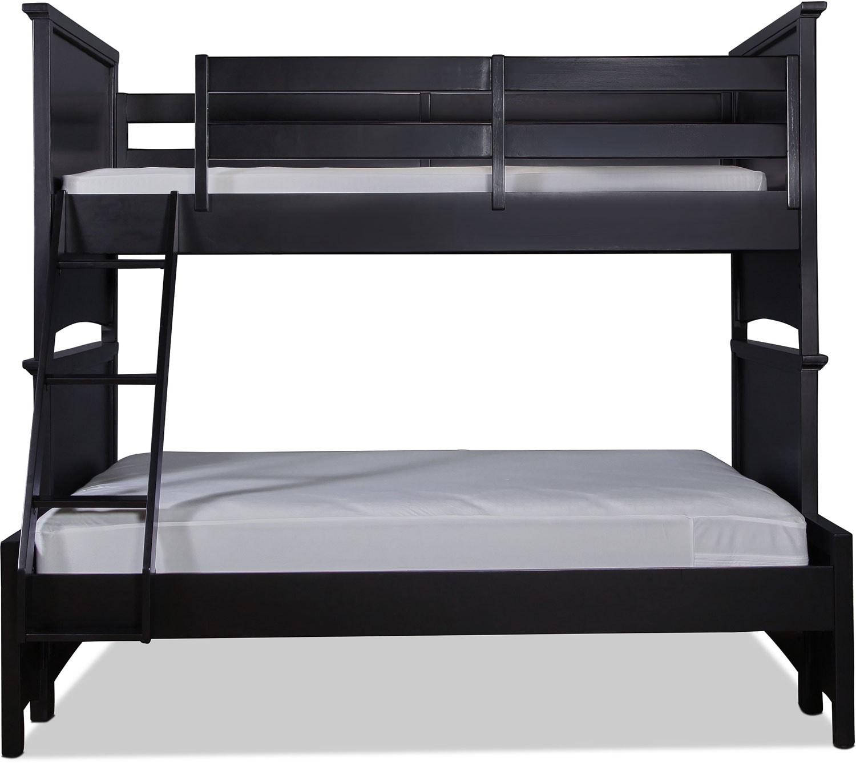 Bennett Twin over Full Bunk Bed  - Black
