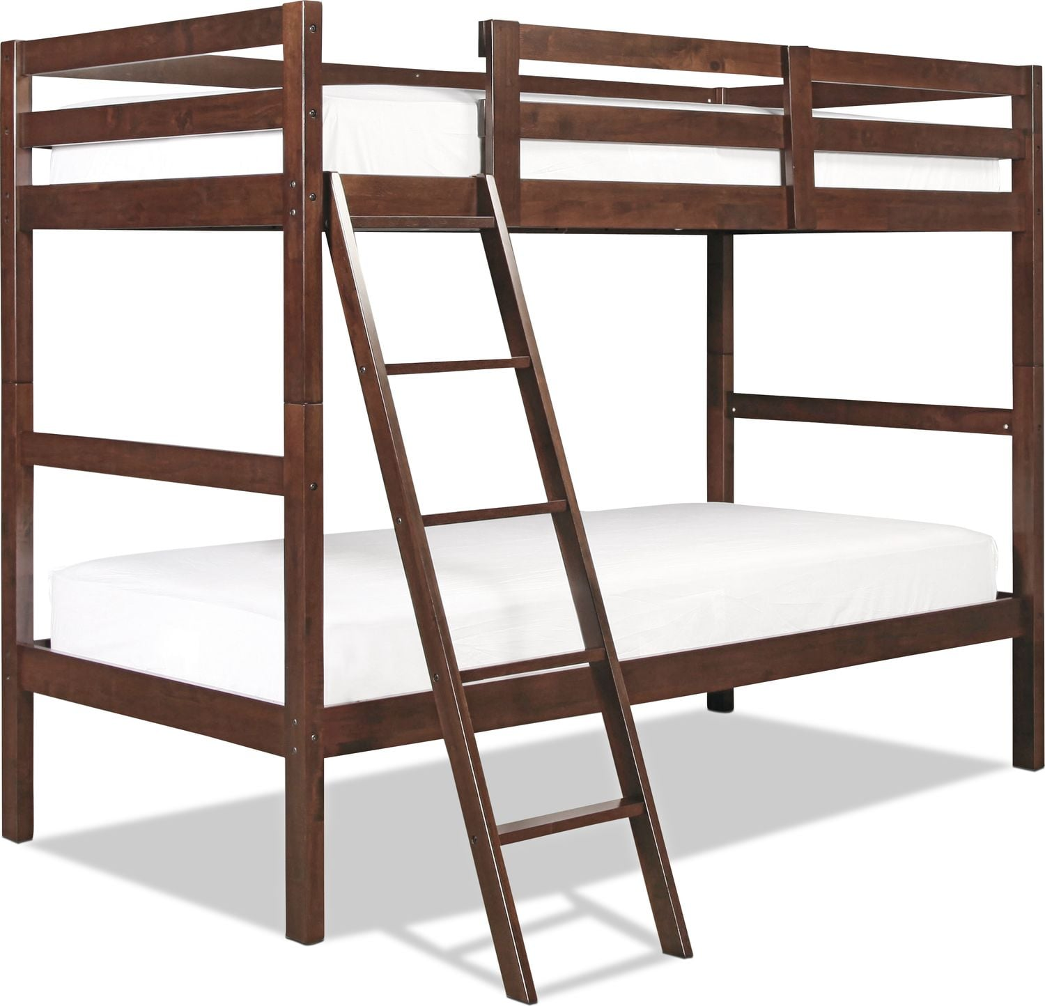 Capeside Twin over Twin Bunk Bed - Chestnut