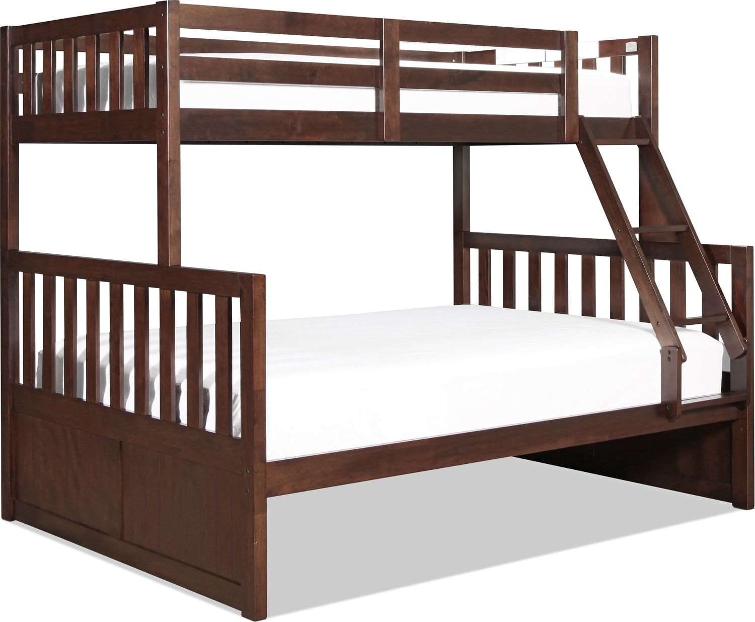 Capeside Twin over Full Bunk Bed - Chestnut