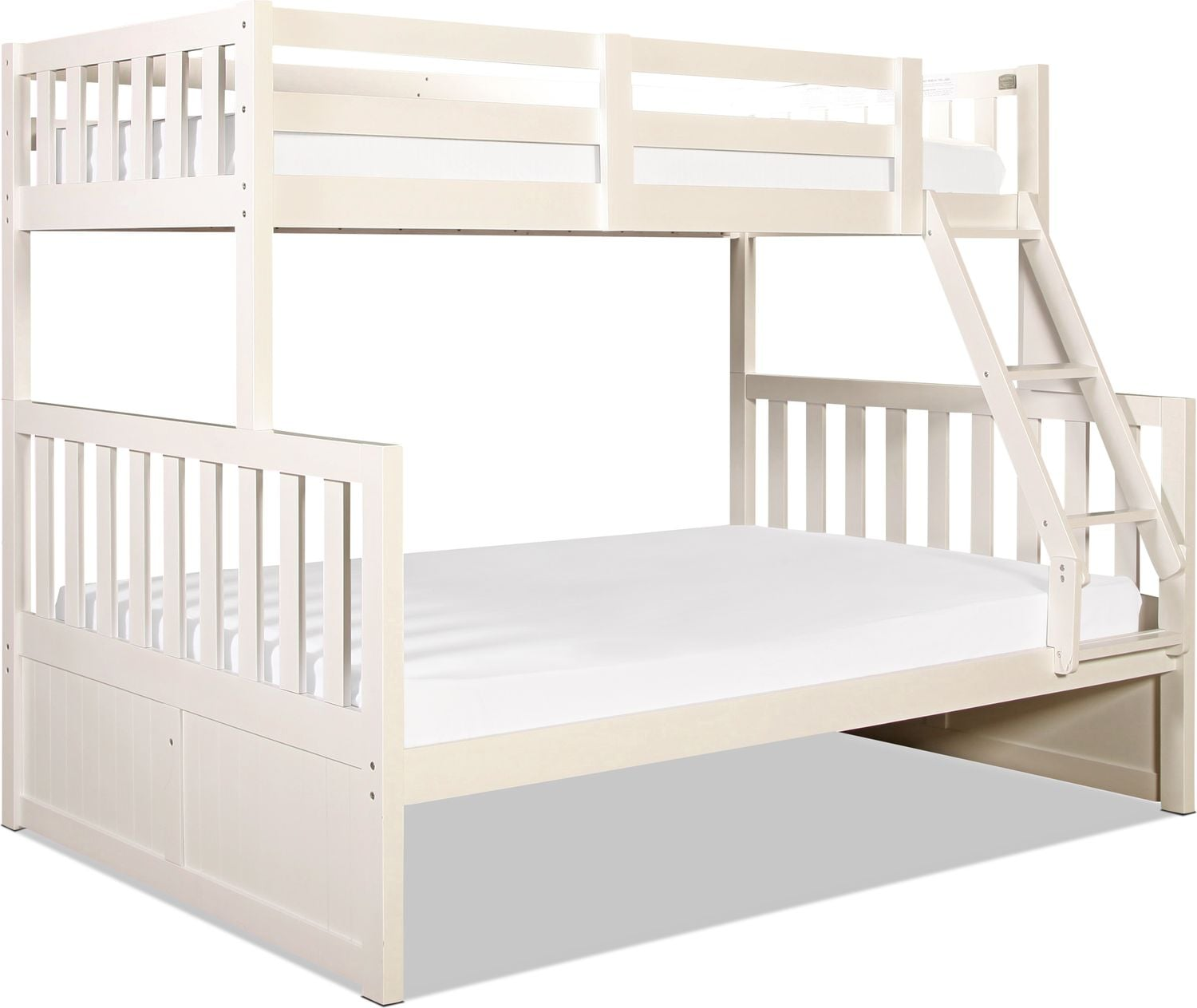 Capeside Twin over Full Bunk Bed - White