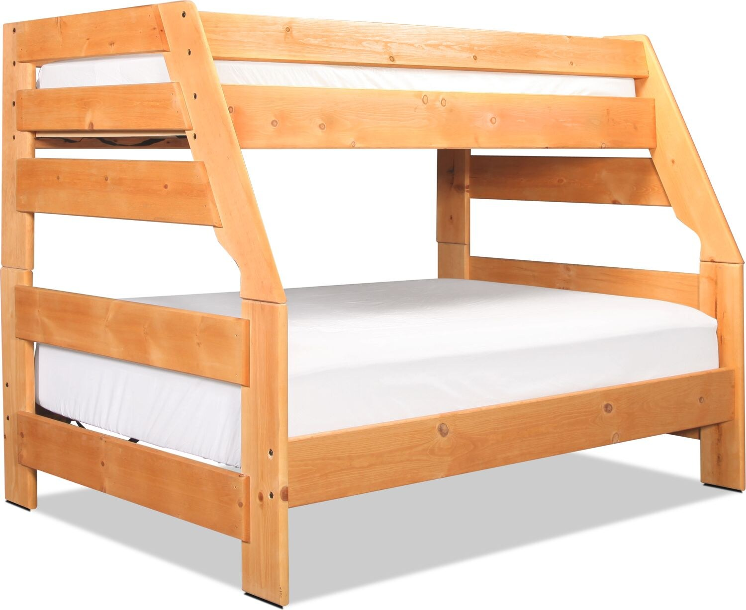 Phoenix Twin over Full Bunk Bed - Cinnamon