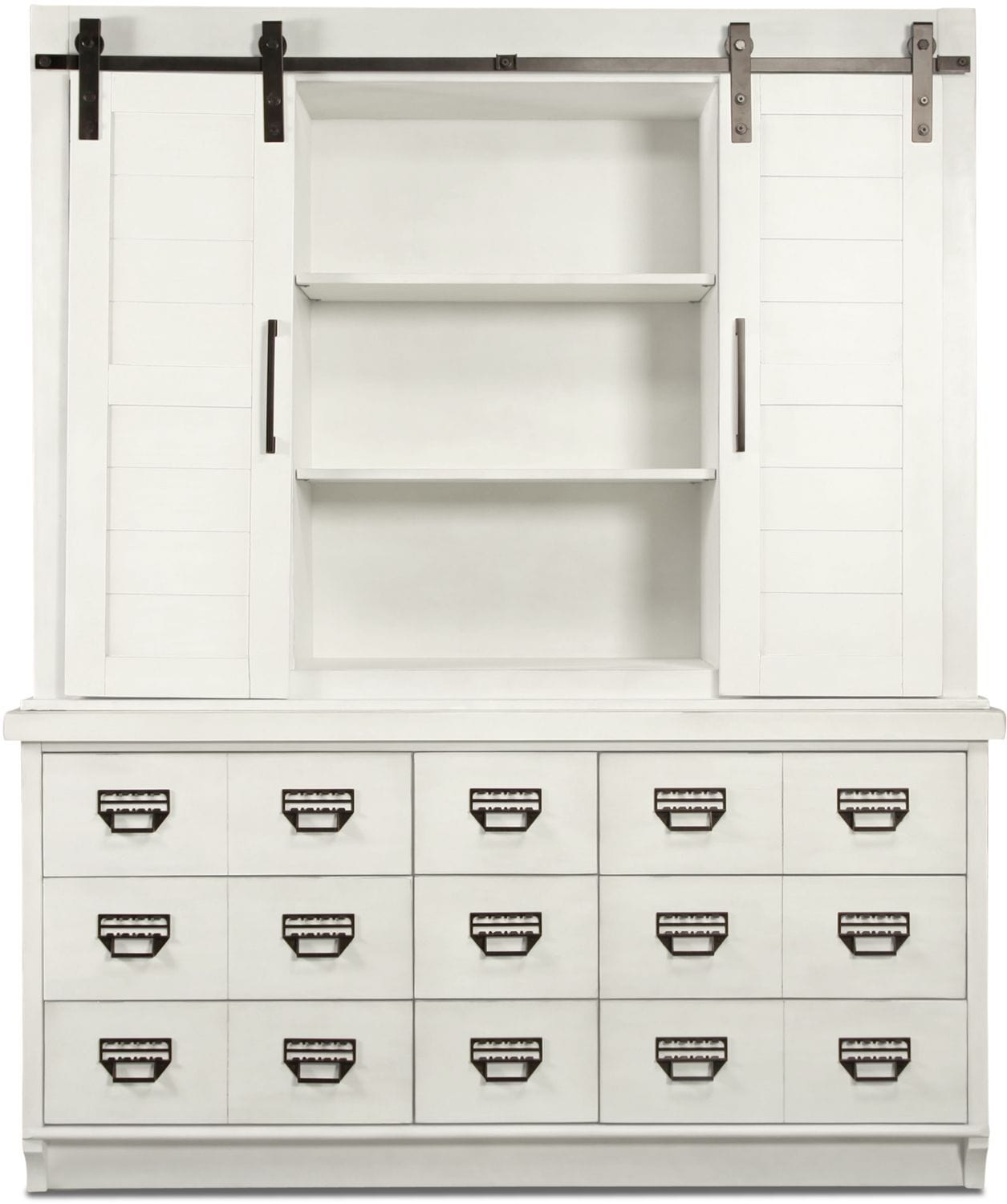 Farmhouse Archive Buffet and Hutch