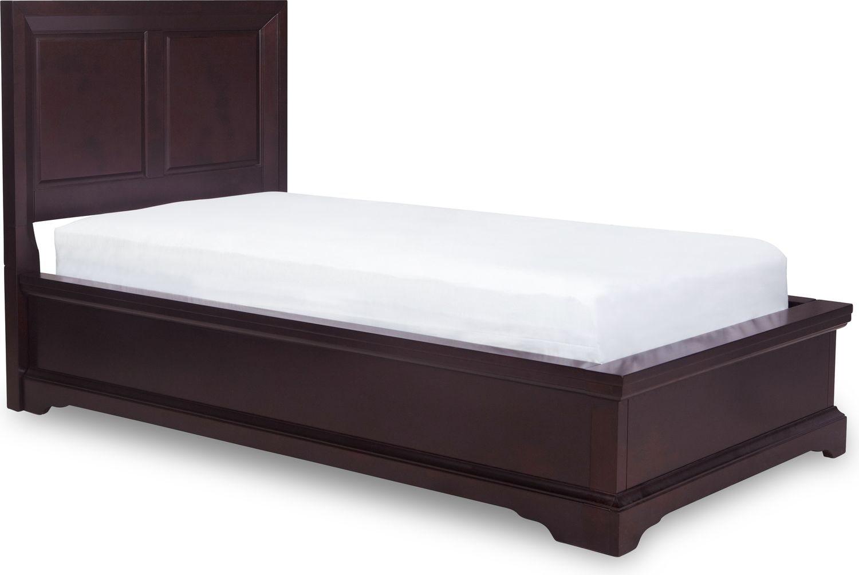 Georgetown Full Bed - Dark Merlot