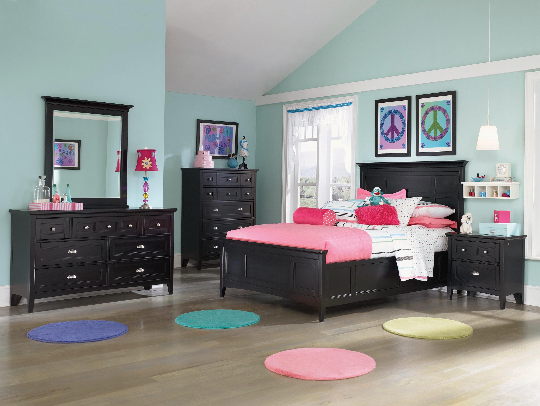 Bennett 4-Piece Twin Bedroom Set - Black