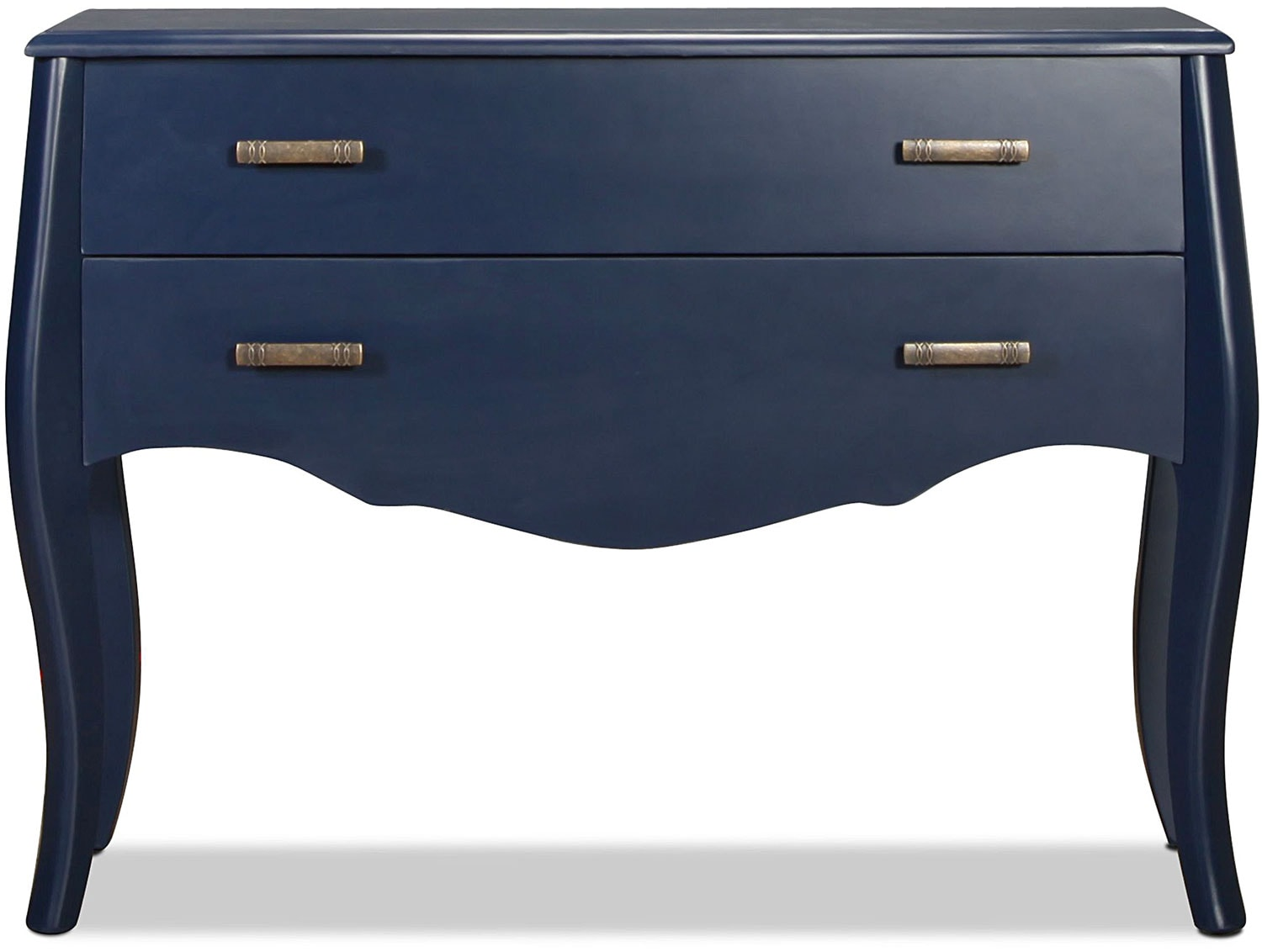 Moe Accent Table - Indigo Blue