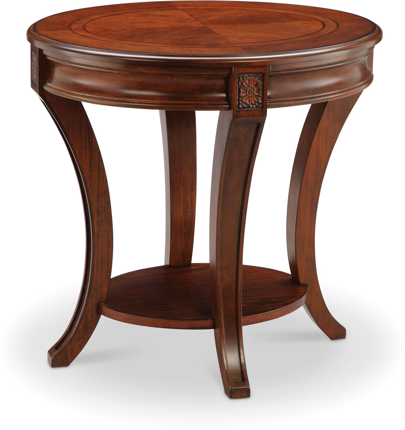 Winslet End Table - Cherry