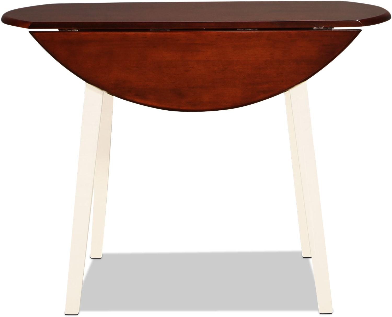 Milton Table - Walnut and White
