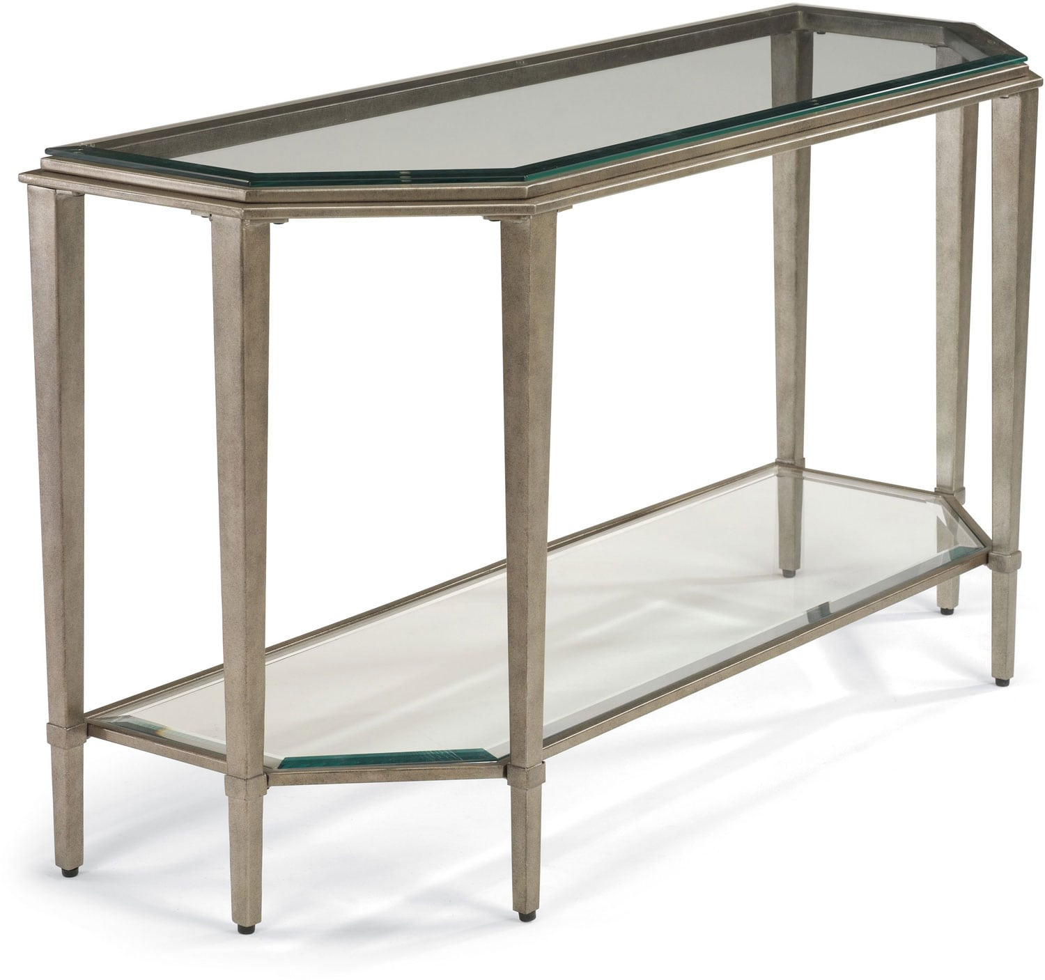 Aged Pewter Sofa Table