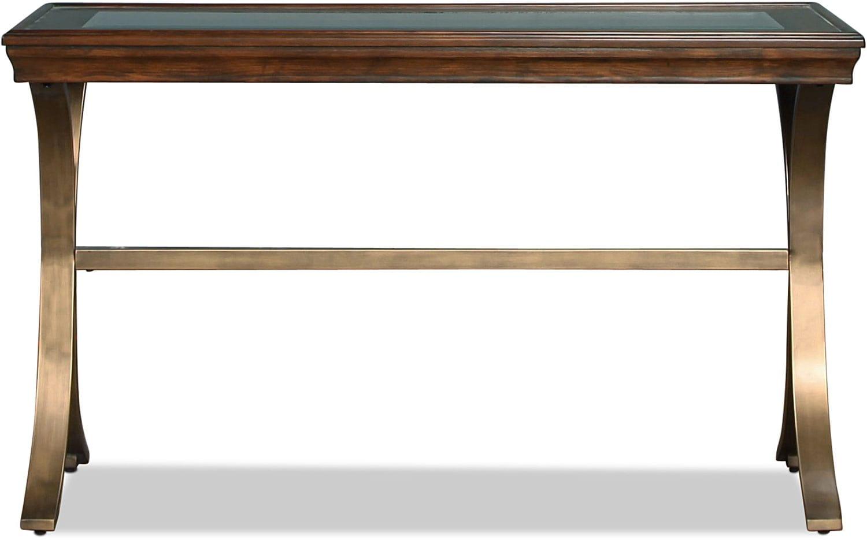 Opal Sofa Table - Chocolate