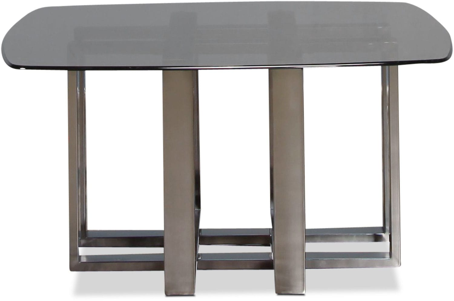 Cassia coffee table black chrome levin furniture Black and chrome coffee table