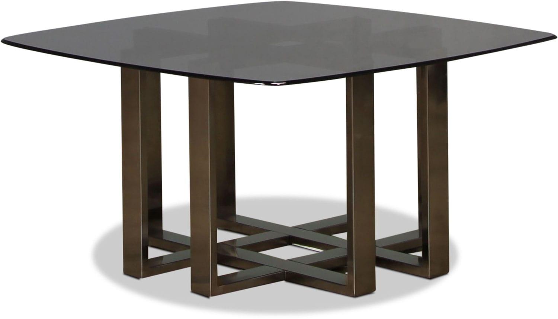 Cassia Coffee Table Black Chrome Levin Furniture