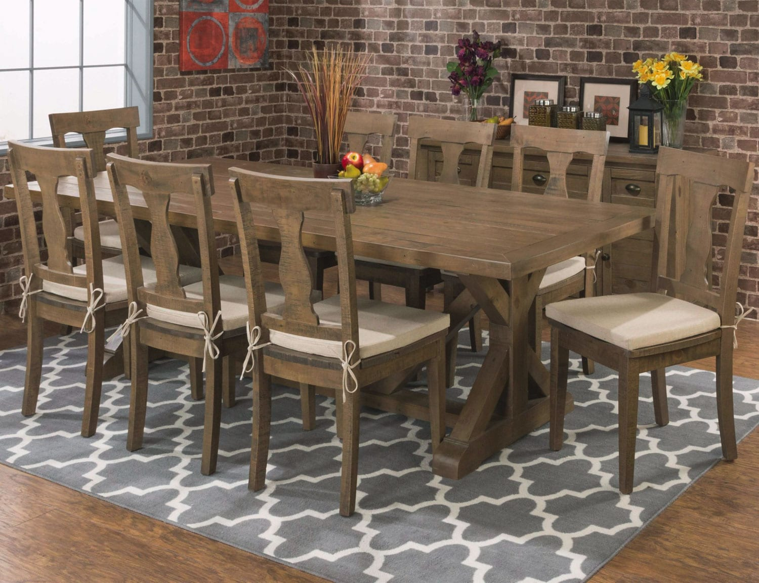 Tuscan Crossing Table and 4 Chairs