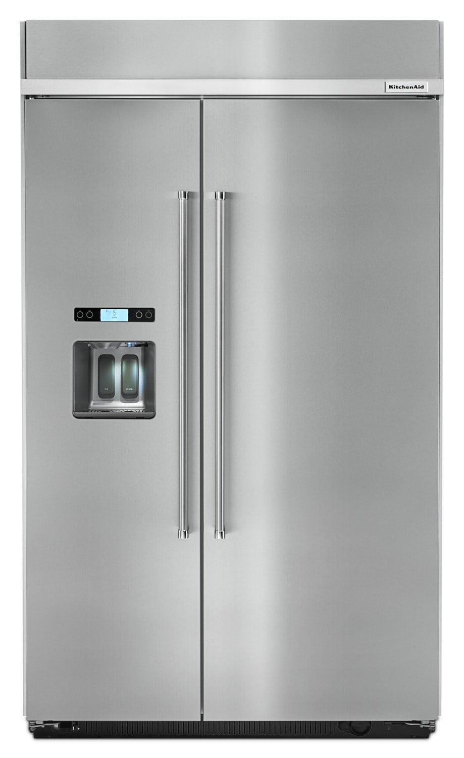 Refrigerators and Freezers - KitchenAid 29.5 Cu. Ft. Built-In Side-by-Side Refrigerator – KBSD618ESS