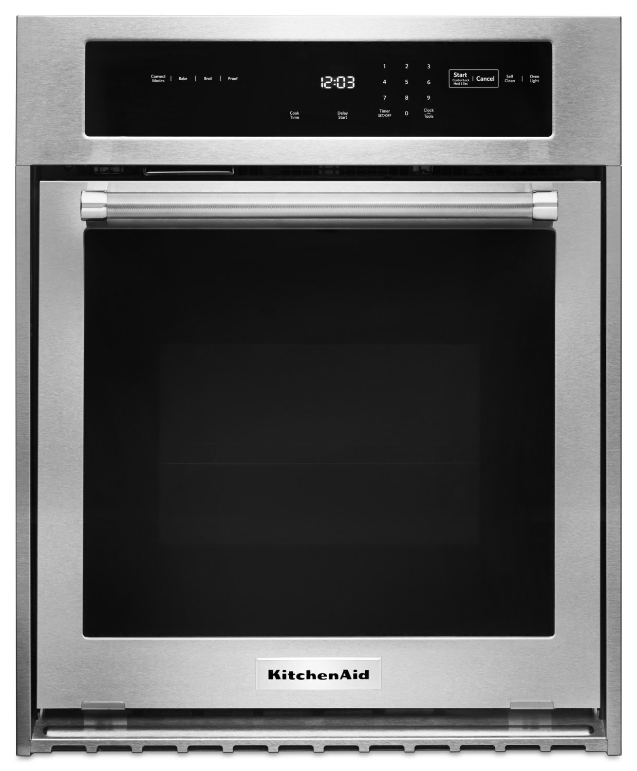 Cuisinières - Four mural simple KitchenAid de 3,1 pi3 - KOSC504ESS