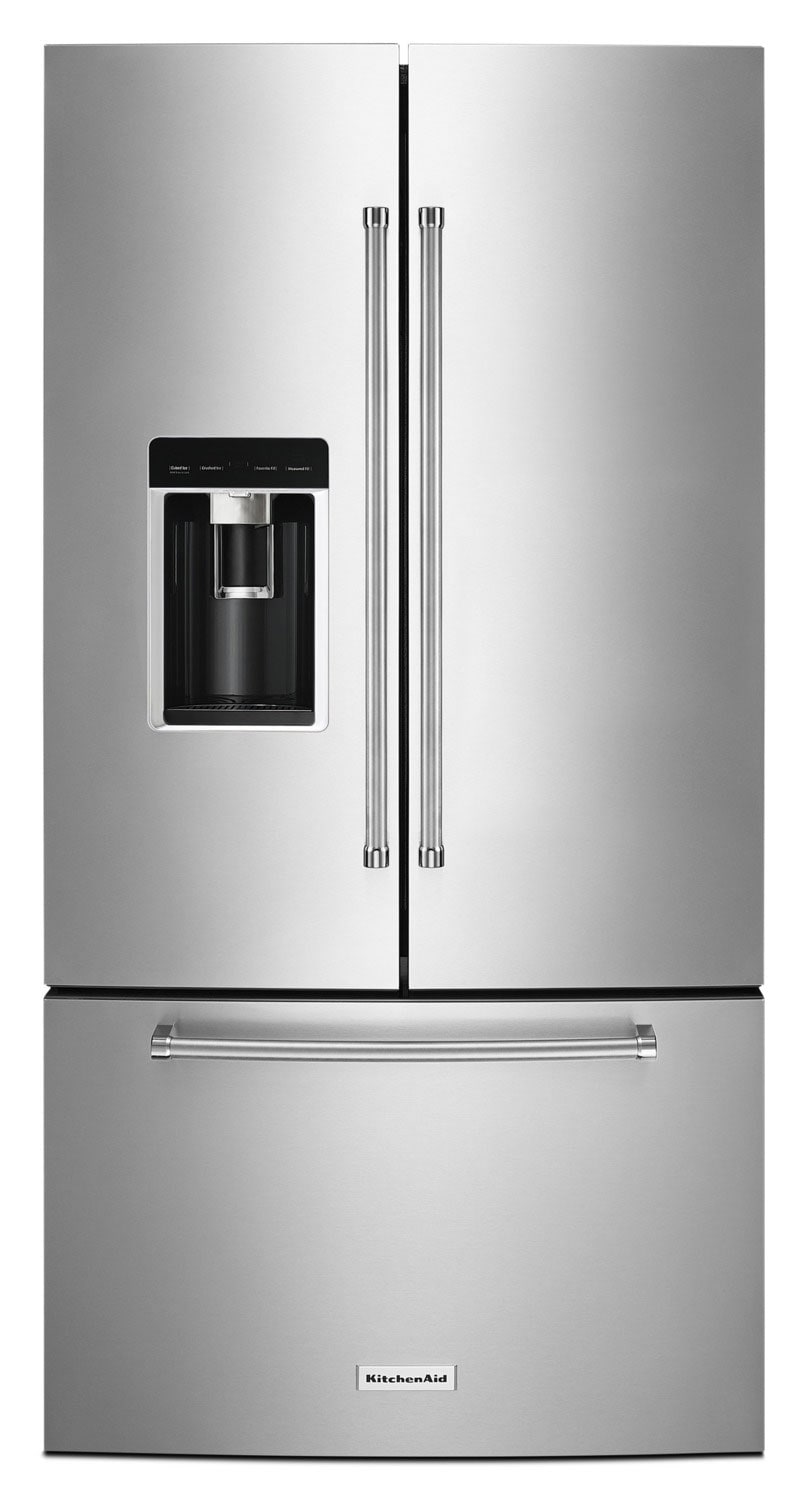 KitchenAid 23.8 Cu. Ft. French-Door Refrigerator – KRFC604FSS