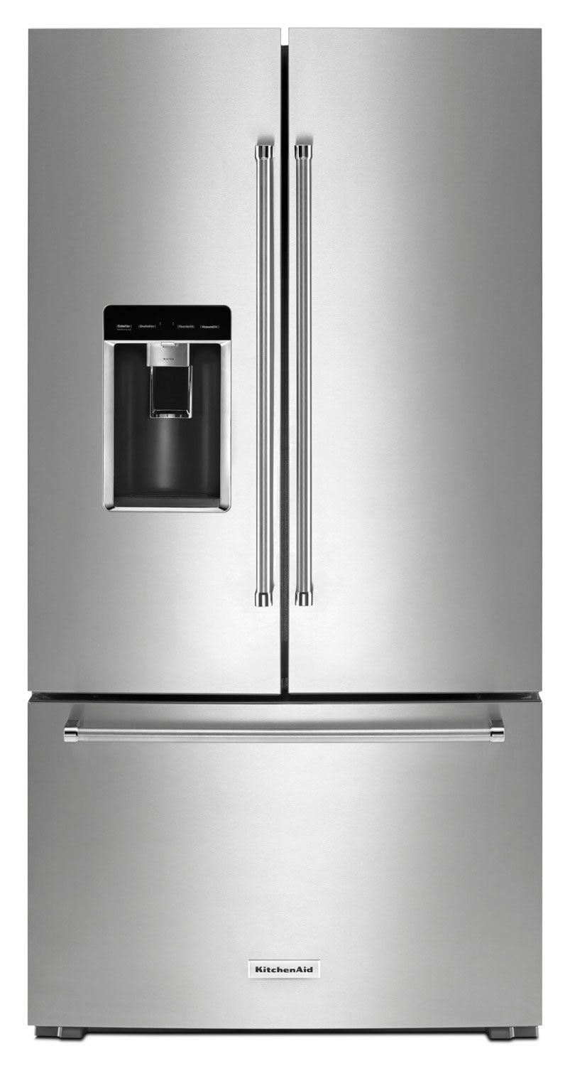 Refrigerators and Freezers - KitchenAid 23.8 Cu. Ft. French-Door Refrigerator – KRFC704FPS