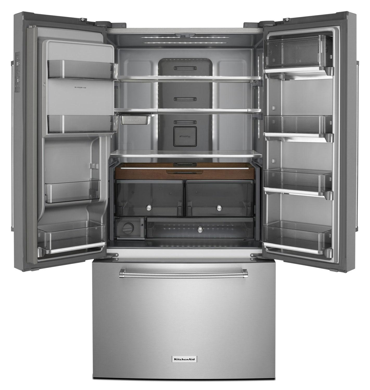 KitchenAid 23.8 Cu. Ft. French-Door Refrigerator – KRFC704FPS | The Brick