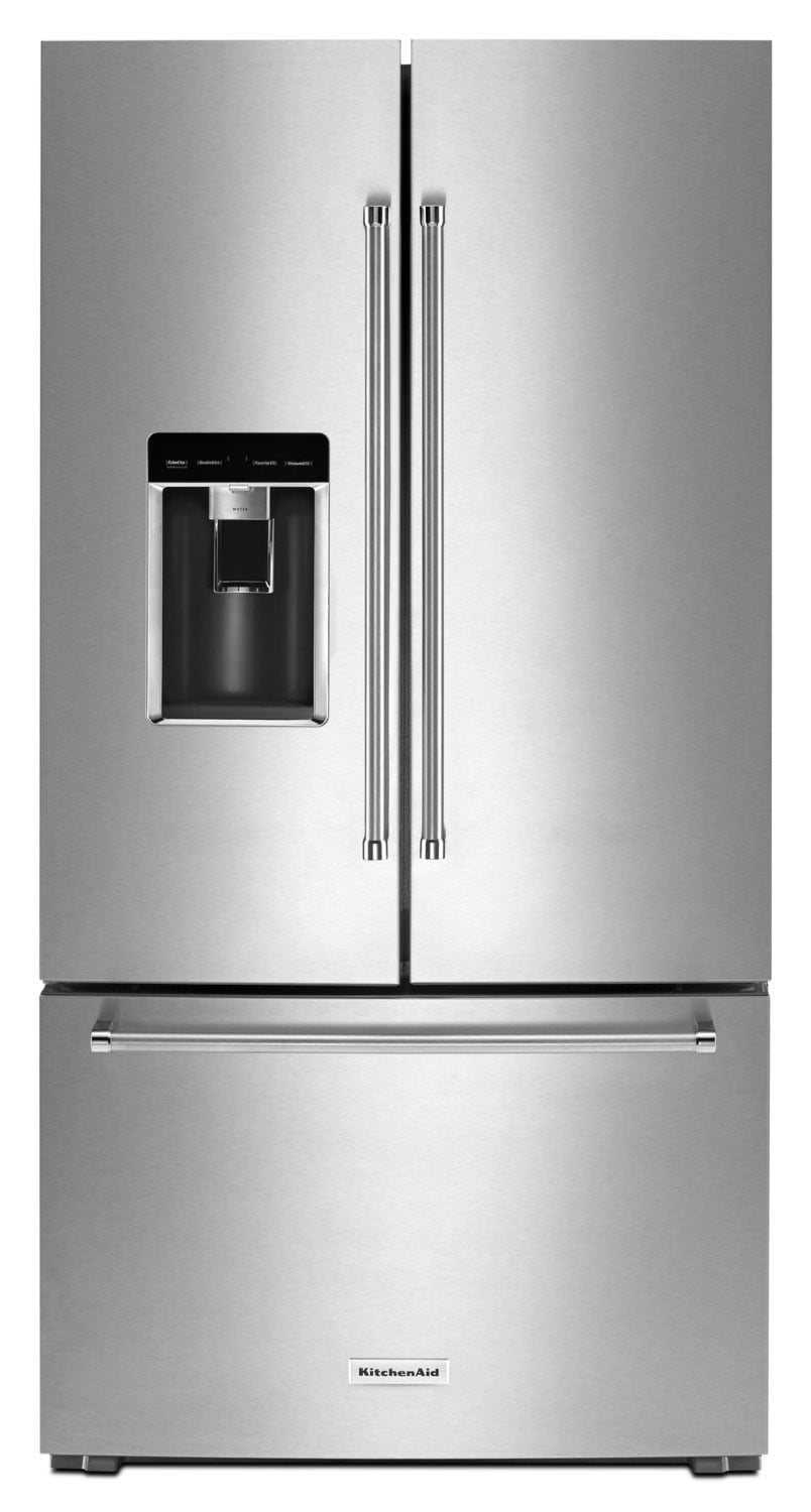 Refrigerators and Freezers - KitchenAid 23.8 Cu. Ft. French-Door Refrigerator – KRFC704FSS