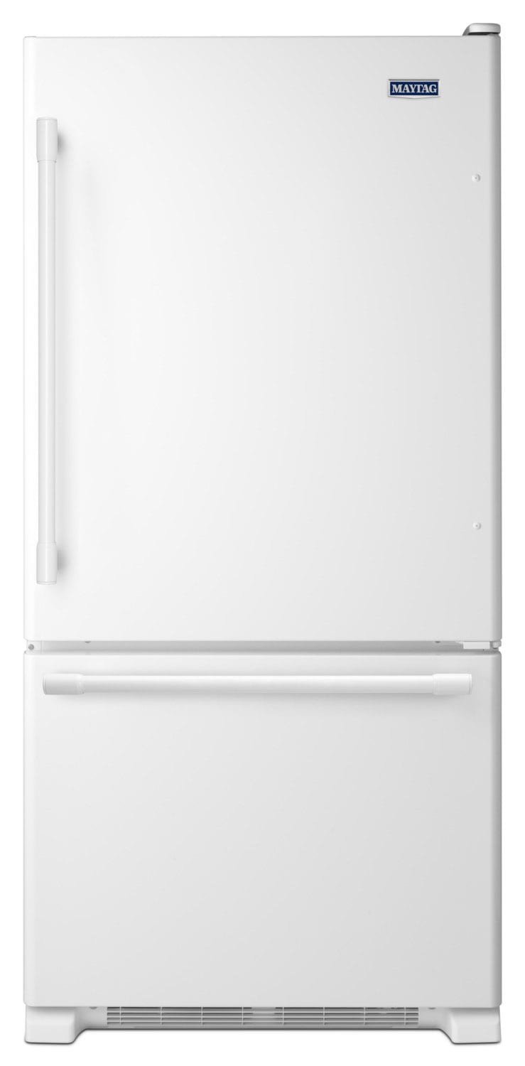 Maytag 22 Cu. Ft. Bottom-Mount Refrigerator – MBF2258FEW