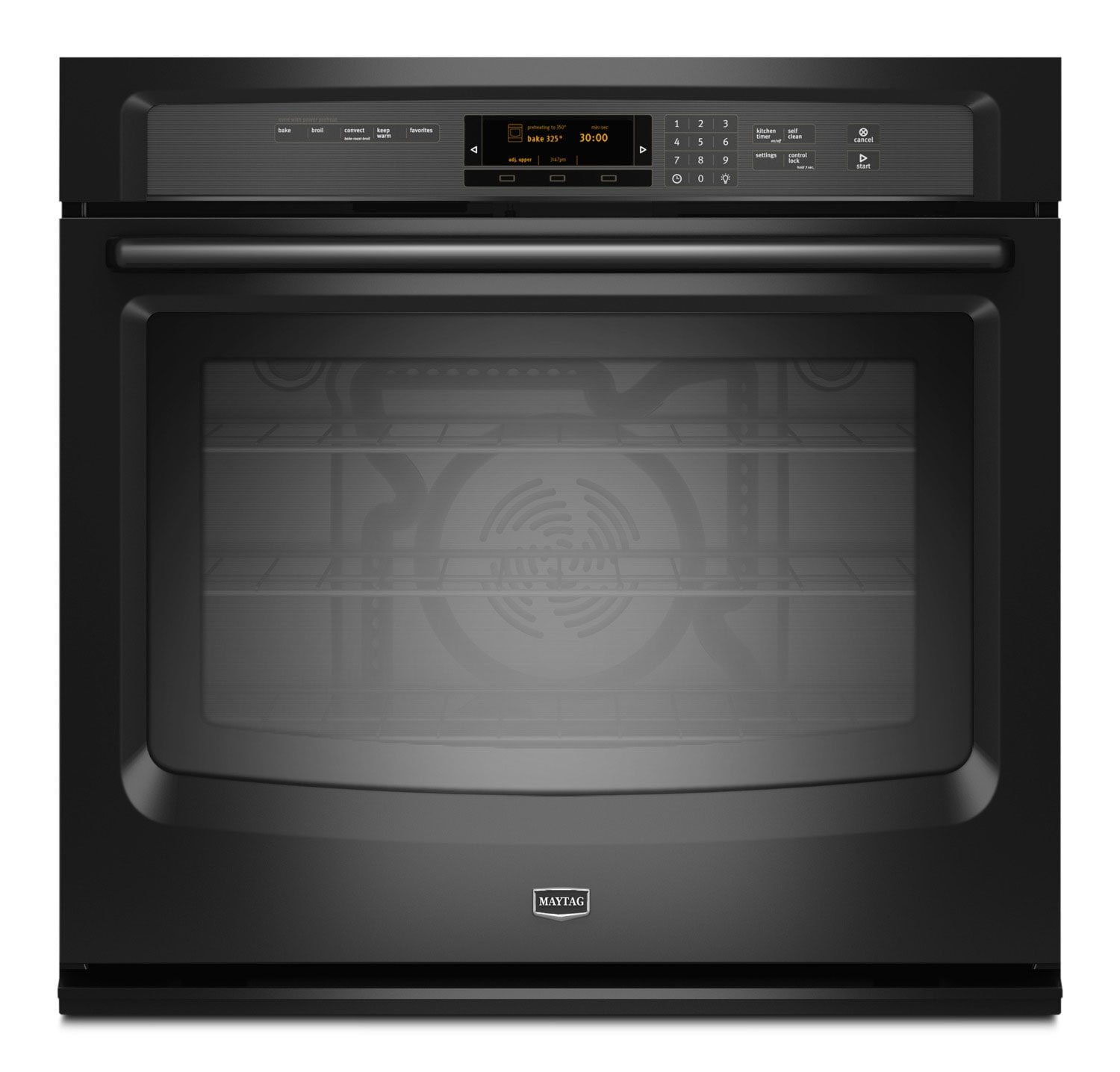 Cooking Products - Maytag 5.0 Cu. Ft. Built-In Wall Oven – MEW9530FB