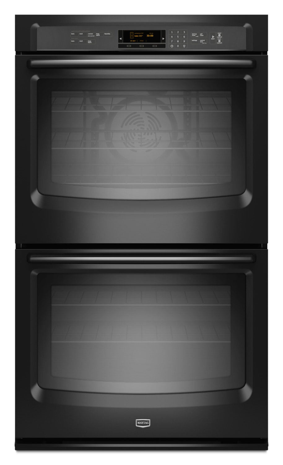 Cooking Products - Maytag 10 Cu. Ft. Double Wall Oven – MEW9627FB