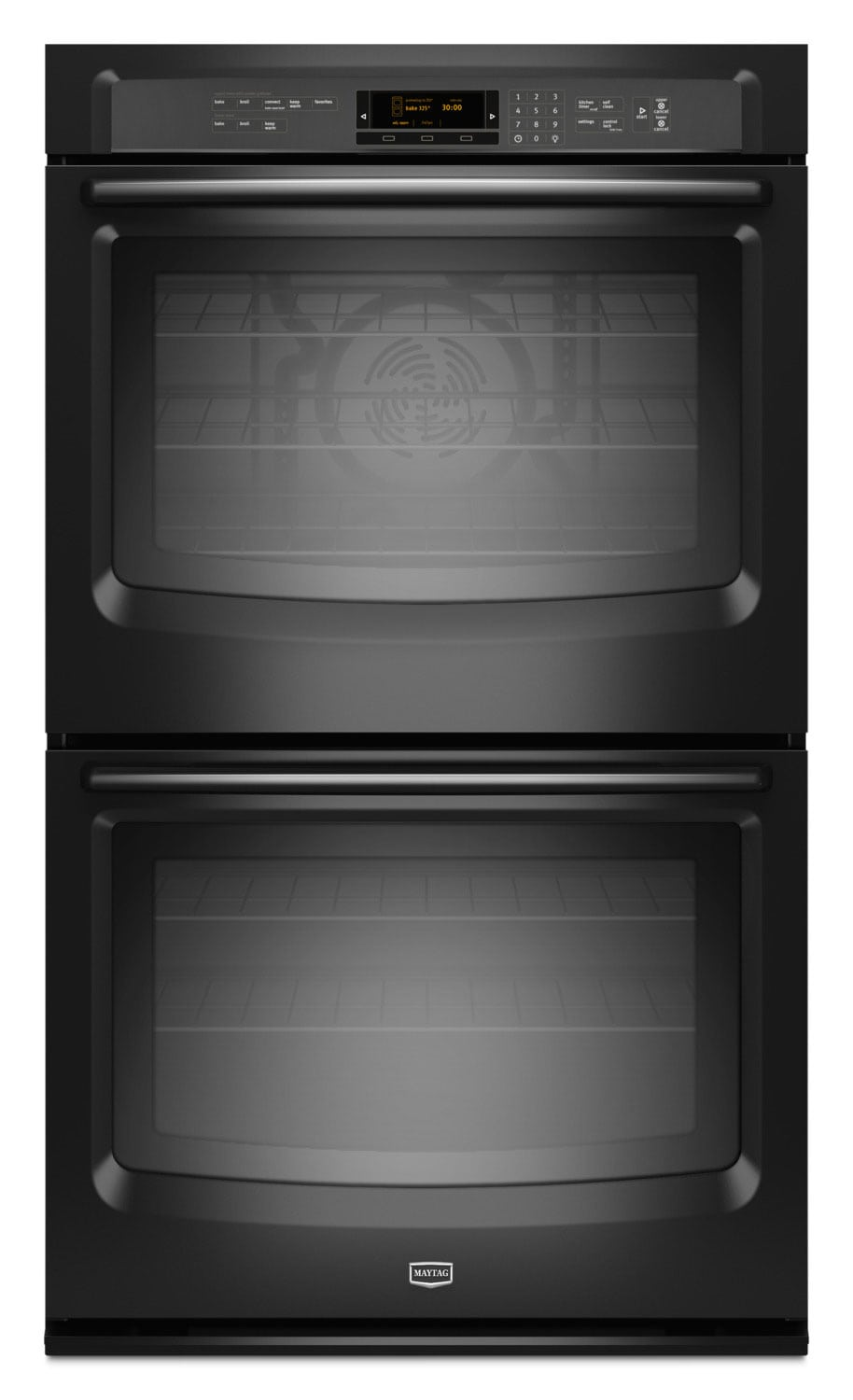 Cooking Products - Maytag 10.0 Cu. Ft. Double Wall Oven – MEW9630FB