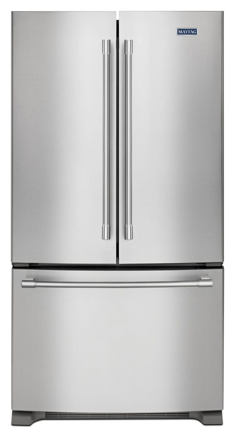 Refrigerators and Freezers - Maytag 20. Cu. Ft. French-Door Refrigerator – MFC2062FEZ