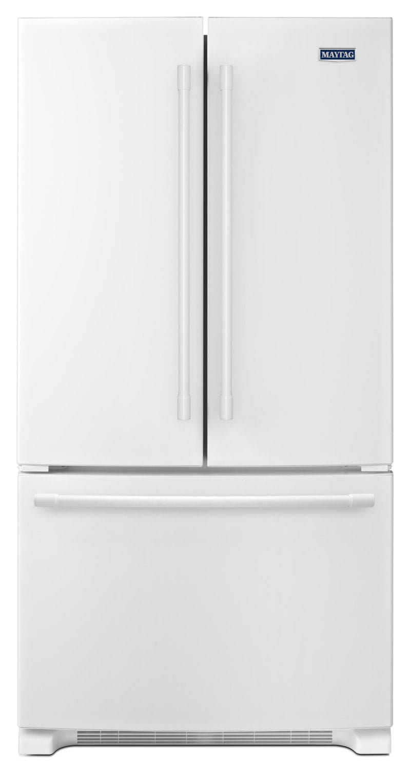 Refrigerators and Freezers - Maytag 25 Cu. Ft. French-Door Refrigerator – MFF2558FEW