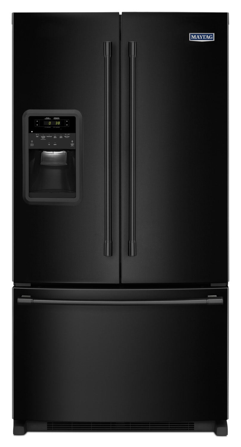 Refrigerators and Freezers - Maytag 22 Cu. Ft. French-Door Refrigerator – MFI2269FRB