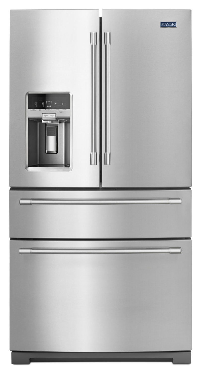 Refrigerators and Freezers - Maytag 26 Cu. Ft. French Door Refrigerator – MFX2676FRZ